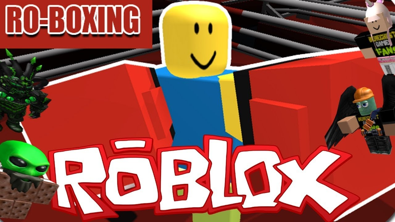 the fgn crew plays  roblox - ro-boxing