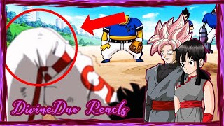 CHICHI BLACK & GOKU BLACK REACT: GET YOUR A$$ OUT OF THE AIR!!