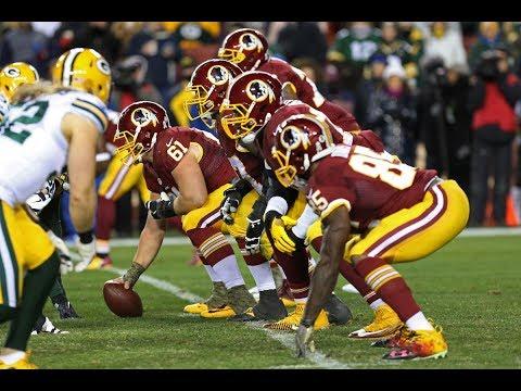 "Redskins Offensive Line ||""Hogs 2.0""|| 2016-17 Blocking Highlights"