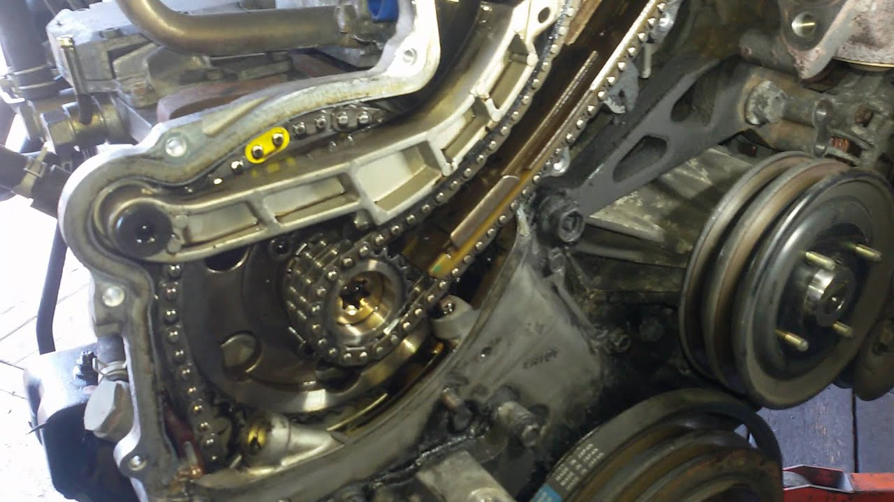 How To Check Nissan Navara D22 Timing Chain Strech Youtube