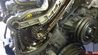 How to check Nissan navara D22 timing chain strech