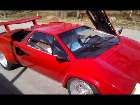 lamborghini countach replica stefan andersson youtube. Black Bedroom Furniture Sets. Home Design Ideas