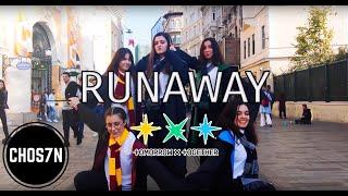 [KPOP IN PUBLIC TURKEY] TXT (투모로우바이투게더) - '9와 4분의 3 승강장에서 너를 기다려 (Run Away)' Dance Cover by CHOS7N