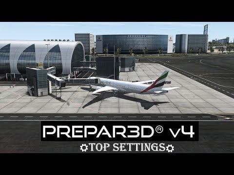 Prepar3D P3D V4 / V4.1 Settings Guide-...