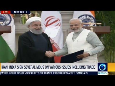 INDIA-IRAN SIGN 9 AGREEMENTS