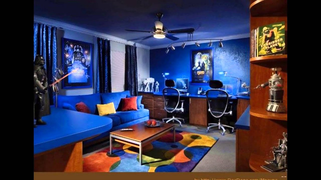 Inspiration for Gaming Room Design Setup YouTube