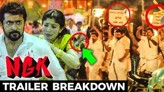 NGK - Official Trailer Breakdown | Suriya, Sai Pallavi, Rakul Preet | Yuvan | Selvaraghavan
