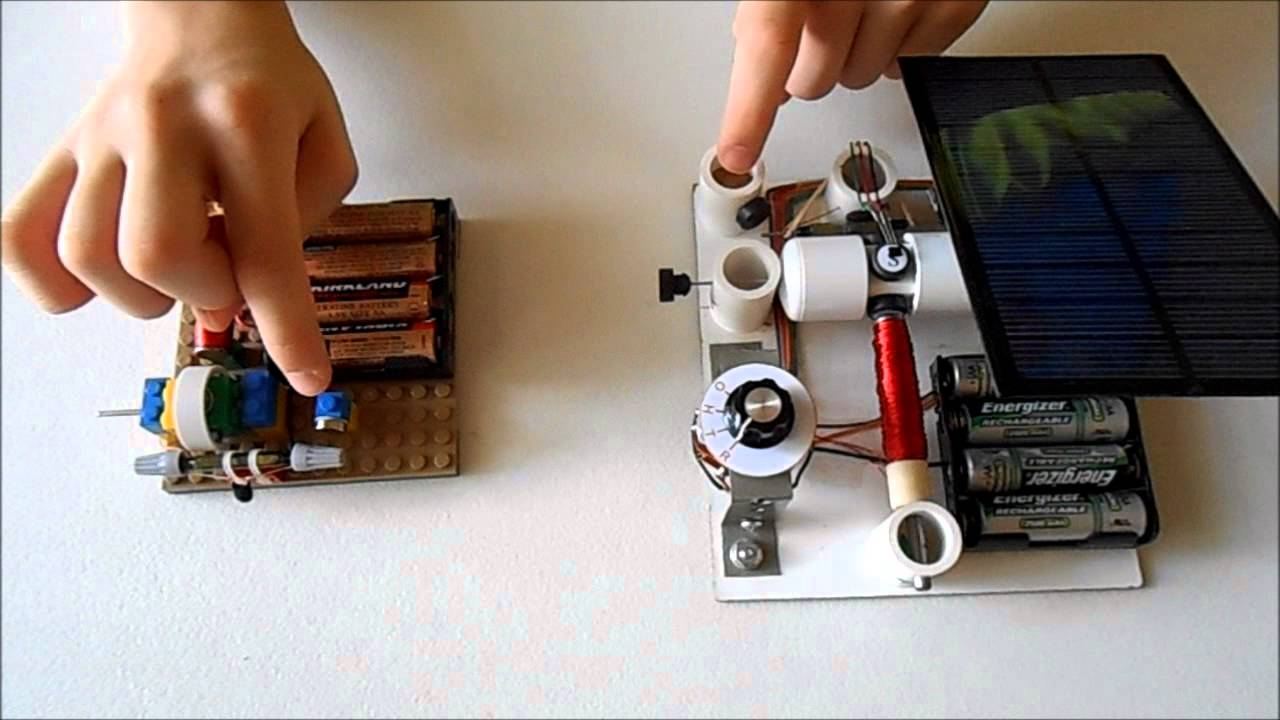 Ideas for experiments with simple electric motors - YouTube
