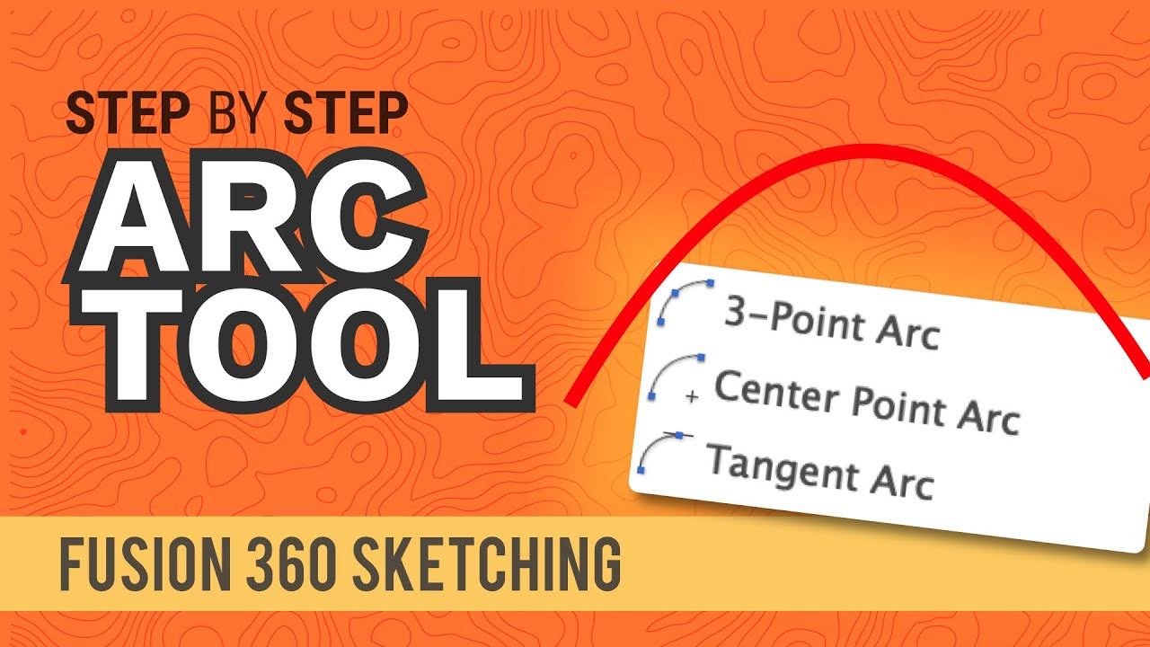 How to Create Arcs in Fusion 360 (all 3 explained)