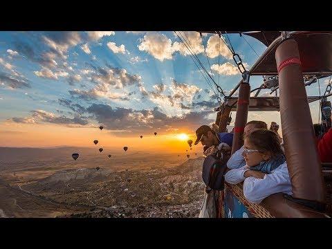 Hot Air Balloon Ride with Royal Balloon in Cappadocia Turkey!