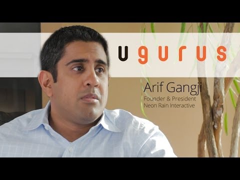 Arif Gangji Talks App Development, Product vs Service, and H