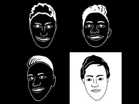 blacks and white