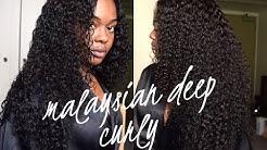 Bele Virgin Hair | Malaysian Deep Curly (Aliexpress)