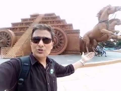 FIlm BAHUBALI Shooting Set @ Ramoji film  city Hyderabad