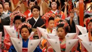 岩手県無形文化財「ひぶせまつり」横町はやし屋台相打ちでAKB48 チーム...