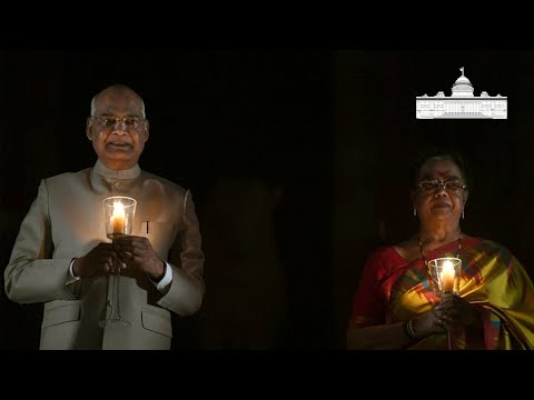 President Kovind lights