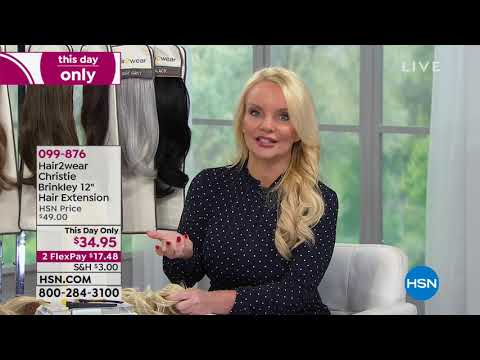 HSN  Christie Brinkley Beauty 09.19.2018  06 PM