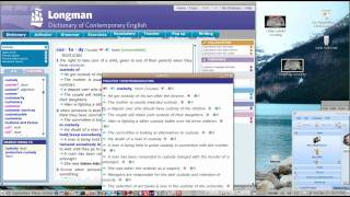 Longman Dictionary (a vocalized dictionary) running Linux. See the ...