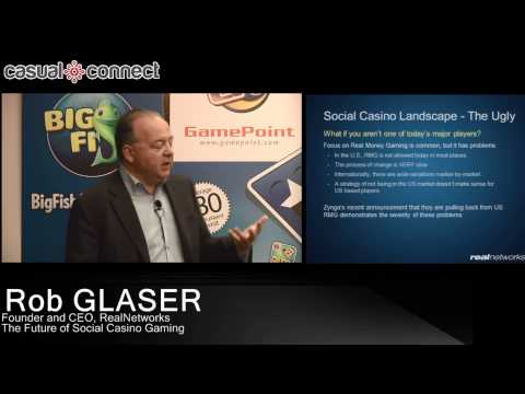 The Future of Social Casino Gaming | Rob GLASER