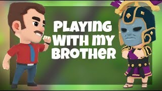 Playing Battlelands with my Brother!