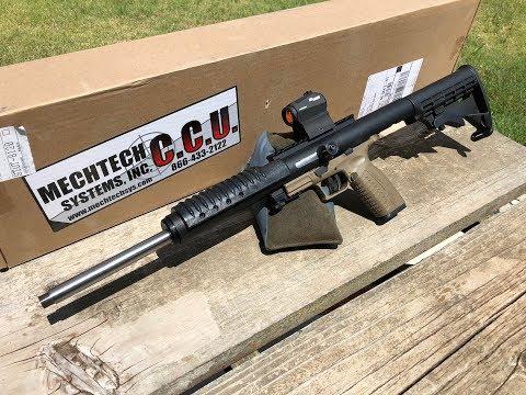 MechTech CCU - Make Your .45 ACP Pistol Into A Carbine