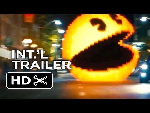 Pixels International TRAILER 2 (2015) - Adam Sandler, Peter Dinklage Video Game Action Movie HD