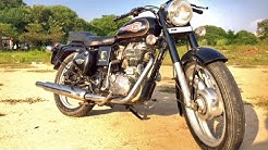 Royal enfield Standard Modification dug dug best sound old bullet 350cc with free flow silencer
