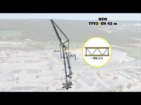 Liebherr - LTM 1750-9.1 800t-Upgrade & New TYV23EN
