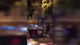 Драка с полицией после матча Россия-Испания ЧМ 2018
