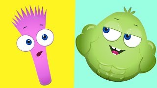 Op and Bob   Weak and Strong   Animated Cartoon for Kids