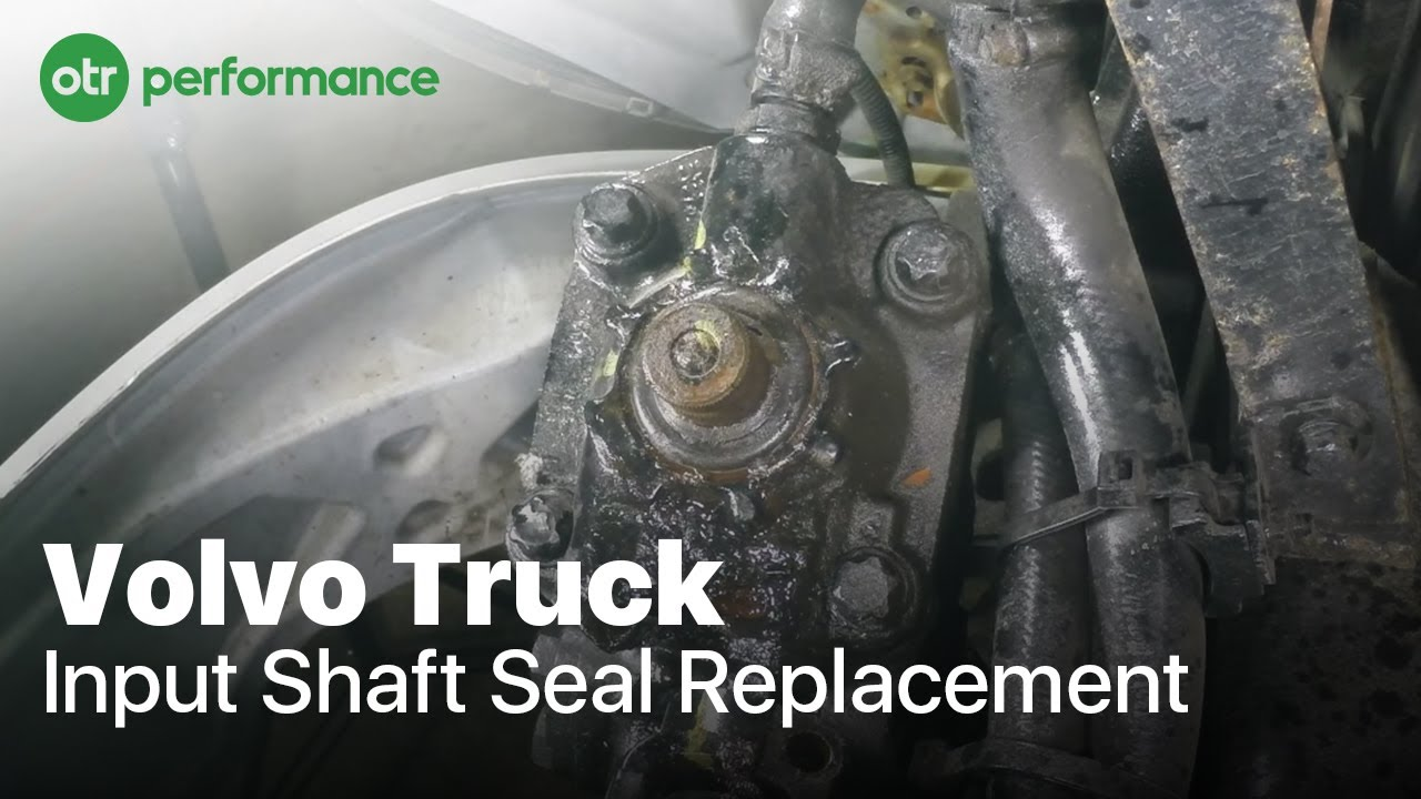 Volvo Truck Input Shaft Seal How To Otr Performance