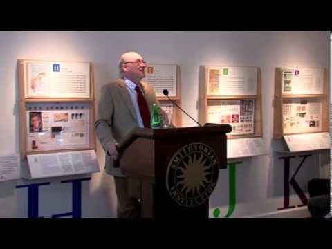 A History of Britain in Thirty-six Postage Stamps, Chris West, Maynard Sundman Lecture 2013