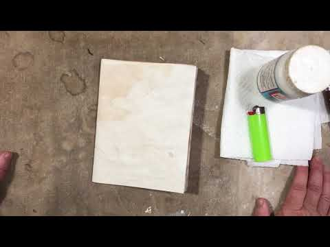 Tutorial: 2 ways to burn paper edges: very different end results