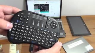 Бездротова клавіатура для Windows і Android пристроїв Rii mini i8
