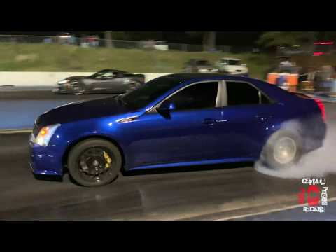 Freaky Friday Drag racing at Fayetteville Motor Sports Park, CTSV GTR Mustangs 370z M4 and more