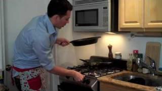 Aaron's Seared Ahi Tuna With Wasabi Potatoes