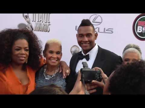 45th NAACP IMAGE AWARDS FABULOUS RED CARPET EVENT: GARY GEORGE.IVNEWS