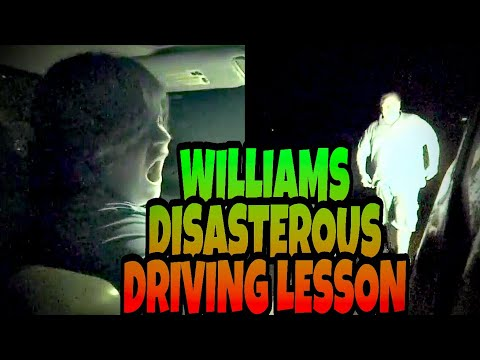 WILLIAM'S DISASTEROUS DRIVING LESSON WITH BILL!!!