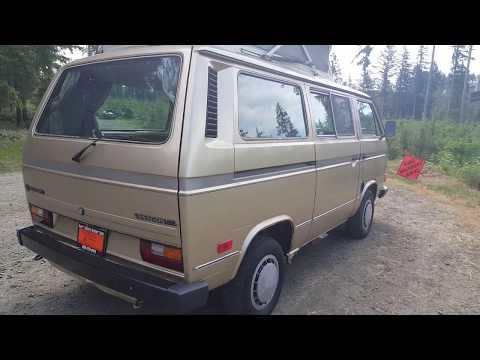 1987 Volkswagen Vanagon Riviera (Westfalia Type Camper)
