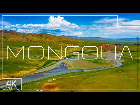 Stunning Mongolia in 4K | Gobi Desert, Orkhon Falls and more