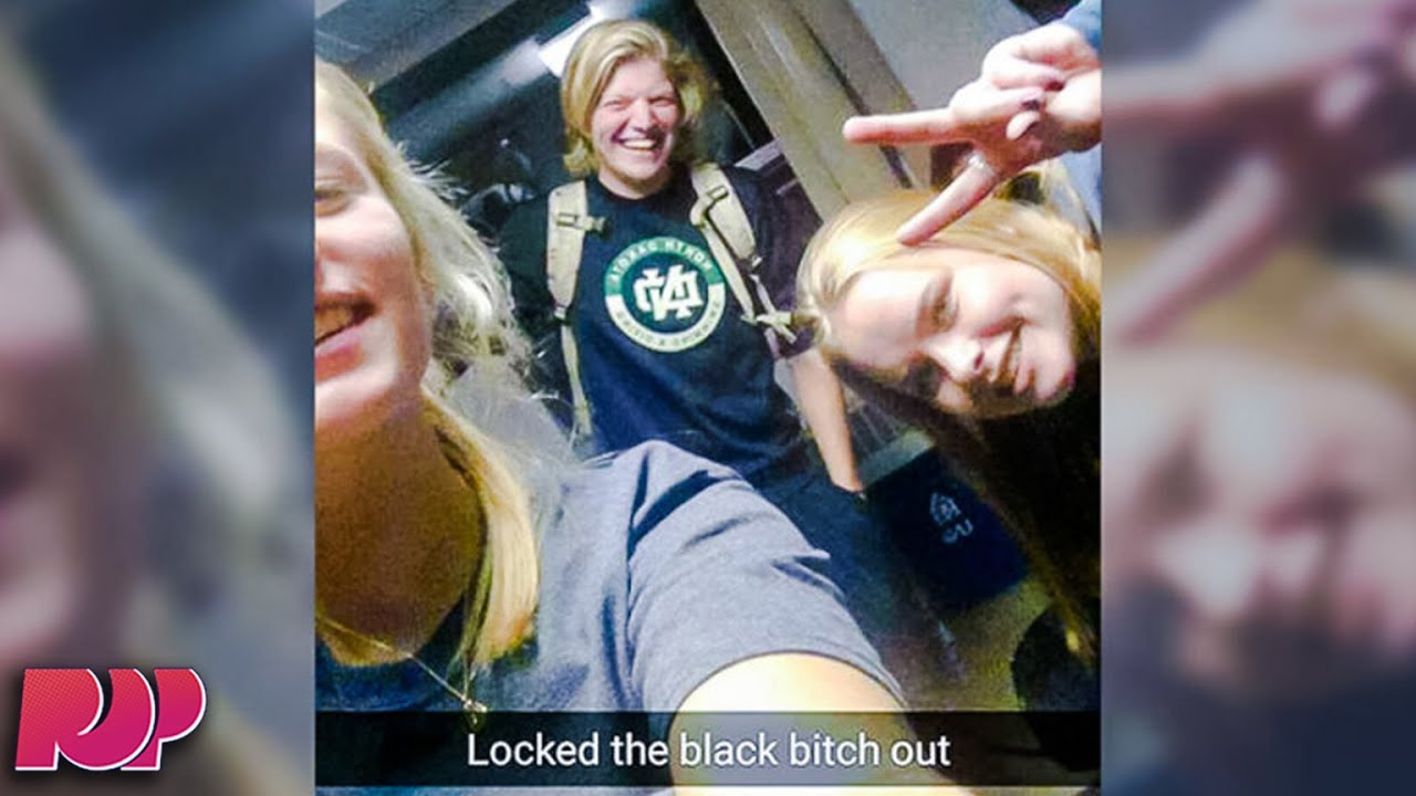 North Dakota Students Lock Black Student Out Of Dorm, Post Hateful Picture    YouTube Part 59