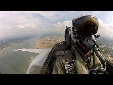 F/A-18E Super Hornet BFM in Portland, OR