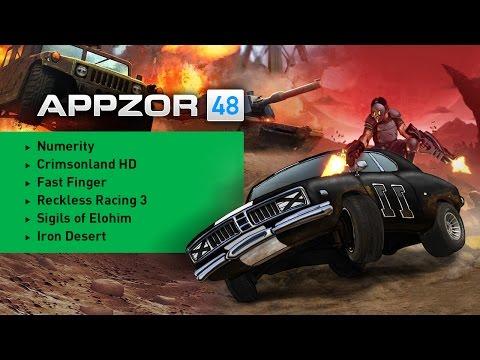 Appzor №48 [Обзор мобильных игр] - Iron Desert, Reckless Racing 3, Crimsonland HD, Numerity...