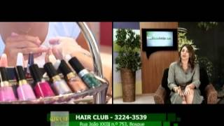 Hair Club, tratamentos de beleza.