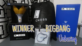 위너 WINNER ➕ 빅뱅 BIGBANG MERCH UNBOXING