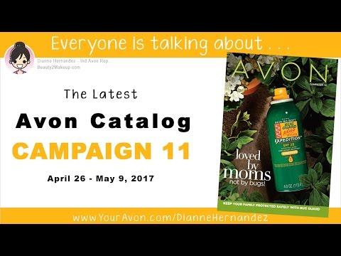 Avon Catalog Campaign 11 2017