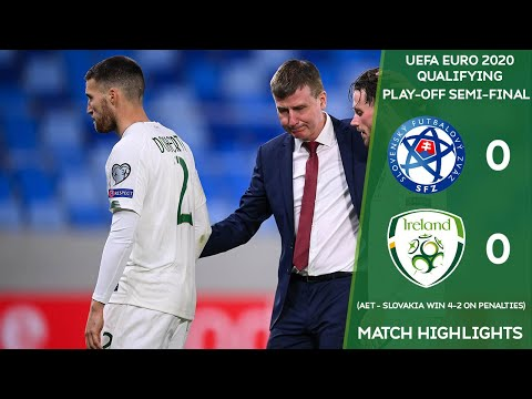 HIGHLIGHTS | Slovakia 0-0 Ireland - Slovakia win 4-2 on penalties |UEFA EURO2020 Play-Off Semi-Final
