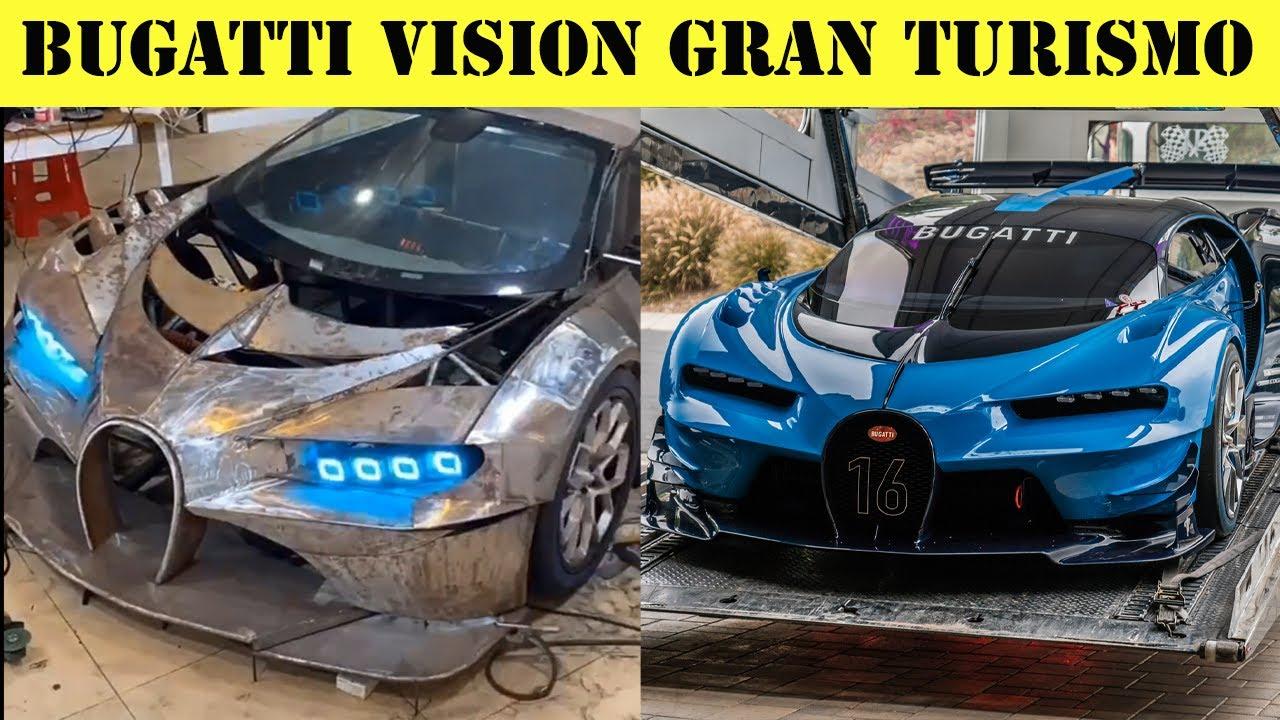 (ВИДЕО) - Тия дали пък не са сериозни майстори?! - Bugatti от старо Audi.