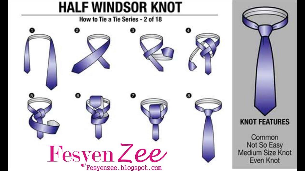Tutorial kita kita: tutorial memakai dasi dengan sederhana.