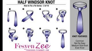 Gambar cover Tutorial Merangkai Dasi Dengan Simple
